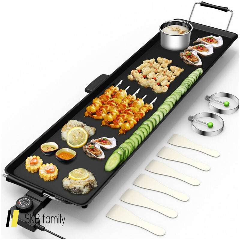 Electric Teppanyaki Table Top Grill Griddle 200815-23450