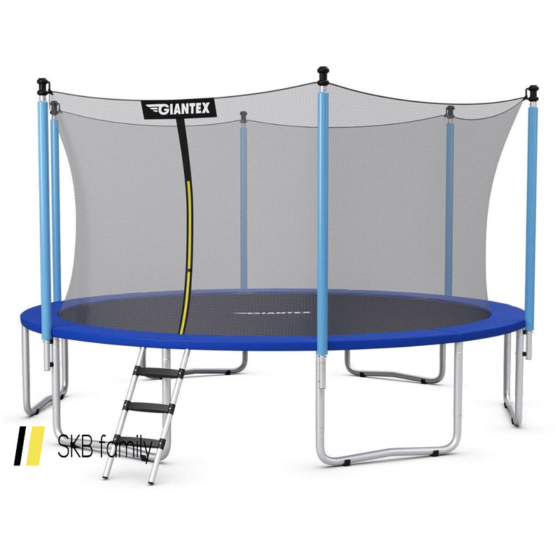 14 Ft Trampoline Combo Bounce 200815-23463