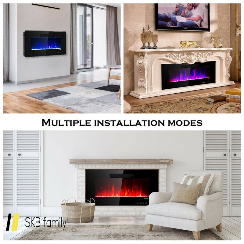 Recessed Wall Mounted Standing Electric Heater Electric Fireplace 200815-23473