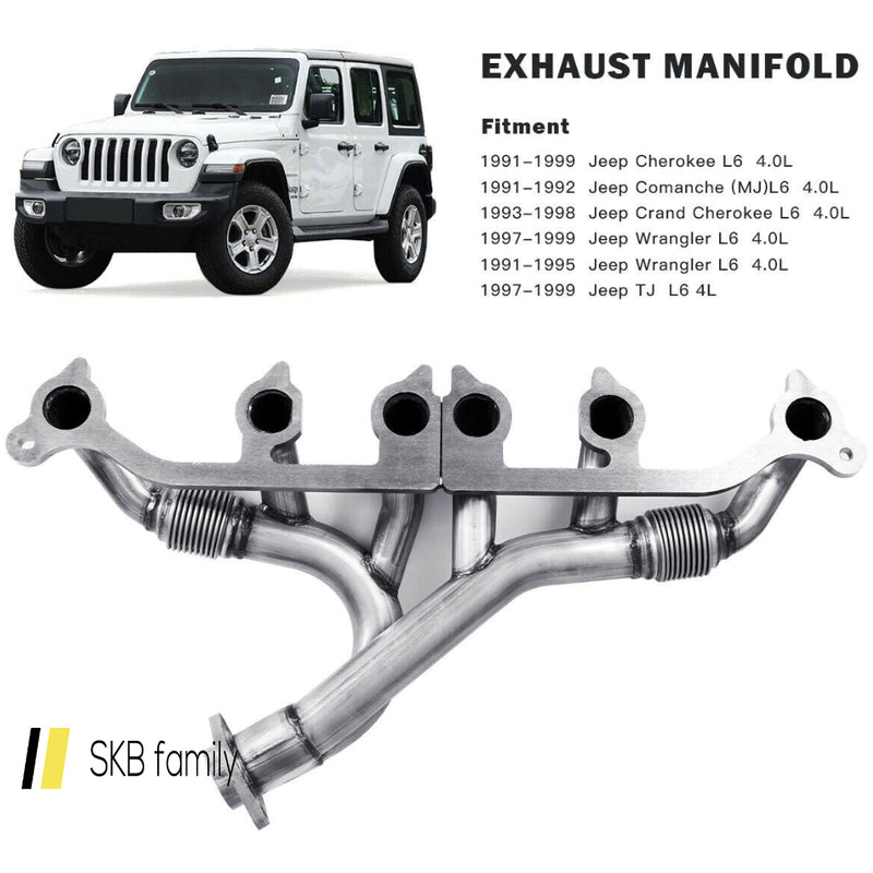 Exhaust Manifold Kits Set For Jeep Wrangler Grand Cherokee 200815-23536