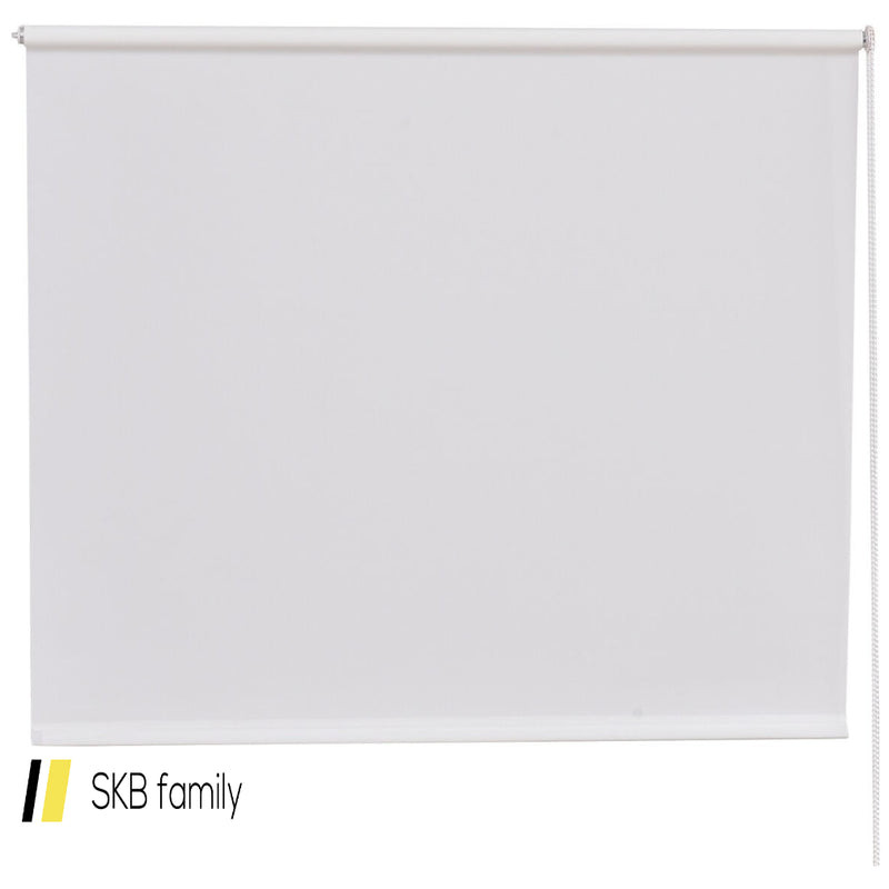 "43"" X 60"" Sunscreen Sun Shade Semi-Shut Roller Curtain 200815-23544"