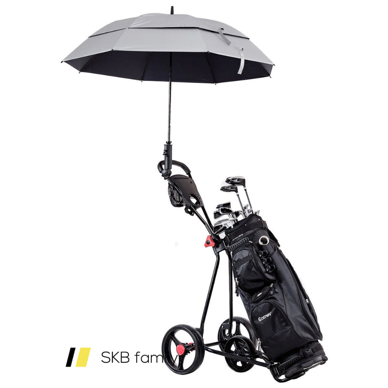 Durable Foldable Steel Golf Cart With Mesh Bag 200815-23572