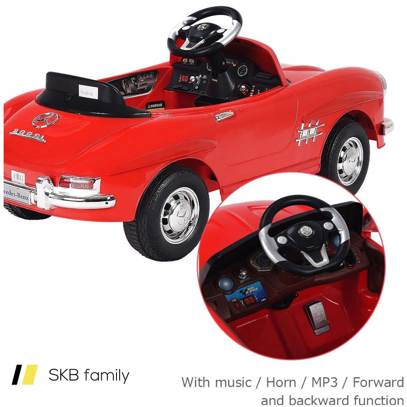Kids Mercedes Benz 300sl Ride Car With Rc 200815-23582