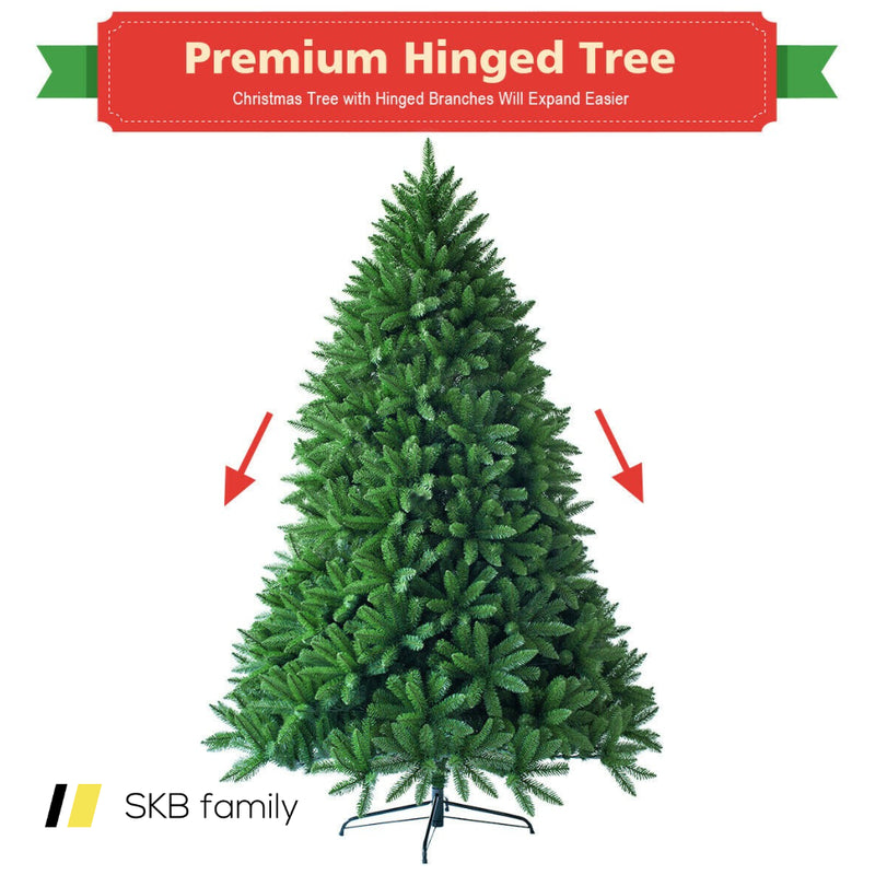7.5 Ft Artificial Christmas Fir Tree With 1968 Branch Tips 200815-23593