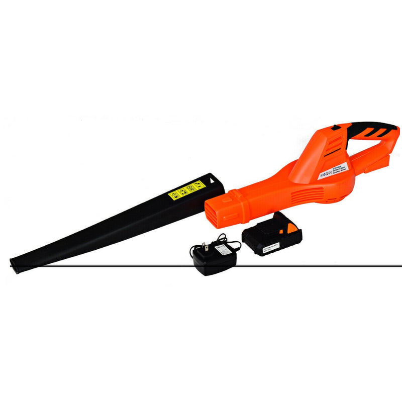 Cordless Leaf Blower Sweeper With 130 Mph Blower Battery & Charger 200815-23605