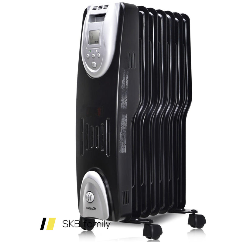 1500 W Electric Oil Filled Safe Digital Radiator Heater 200815-23632