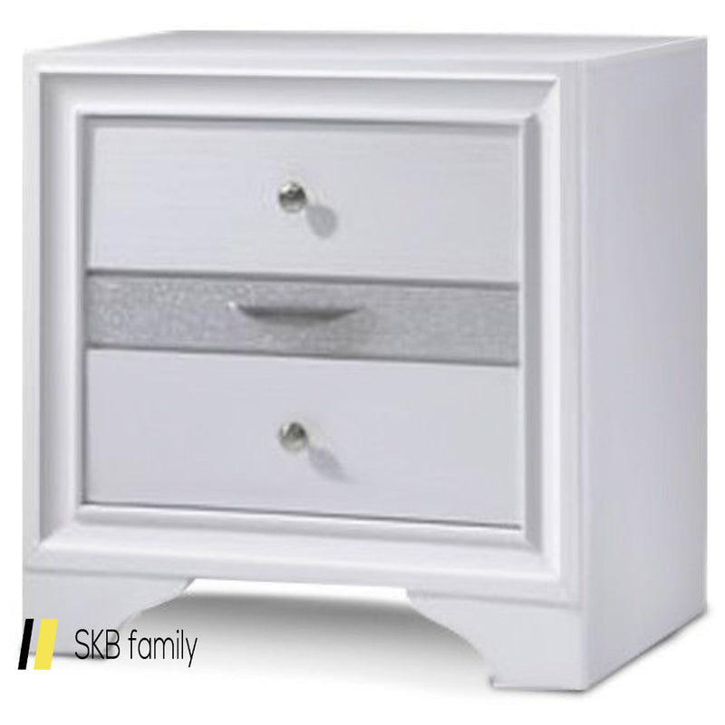 3 Drawers Decor End Side Table Nightstand 200815-23635
