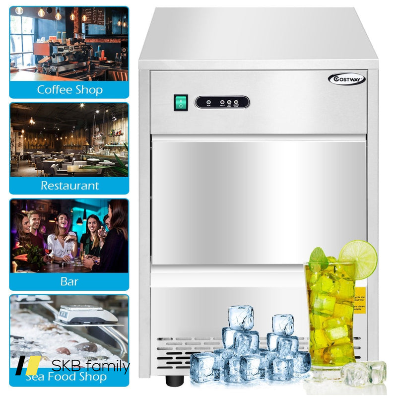 Automatic Ice Maker Machine W/ 70lbs/24h Productivity 200815-23656