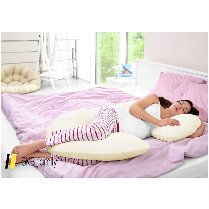 C Shape Total Body Pillow For Expectant Mothers 200815-23659