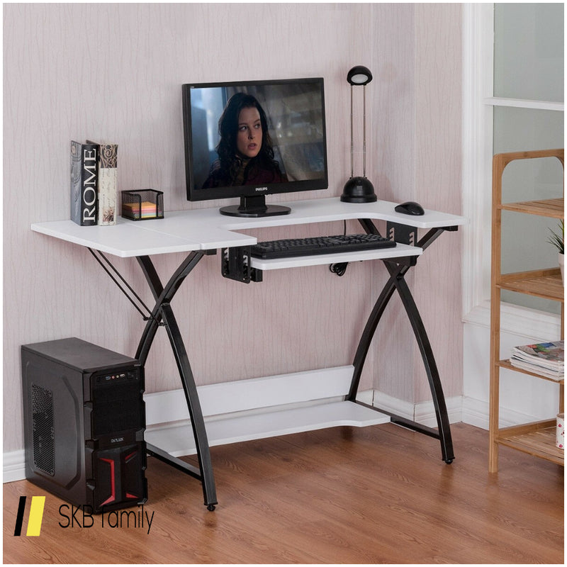 Sewing Craft Table Computer Desk With Adjustable Platform 200815-23704