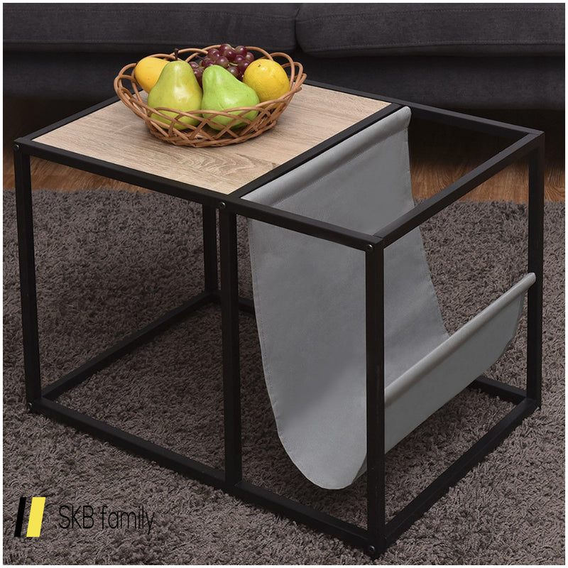 End Table Side Accent Metal Magazine Organizer 200815-23717