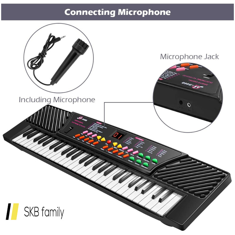 54 Keys Kids Electronic Music Piano 200815-23731