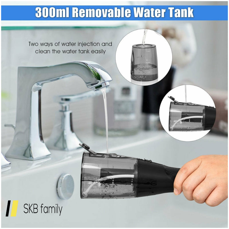 Rechargeable Water Portable Flosser With 2 Nozzle 200815-23807