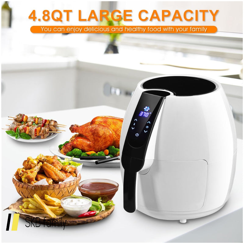1500 W 4.8 Quart Electric Lcd Touch Screen Timer Air Fryer 200815-23817
