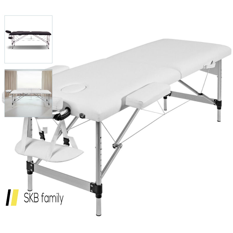 "72""L Portable Massage Table W/ Free Carry Case 200815-23847"
