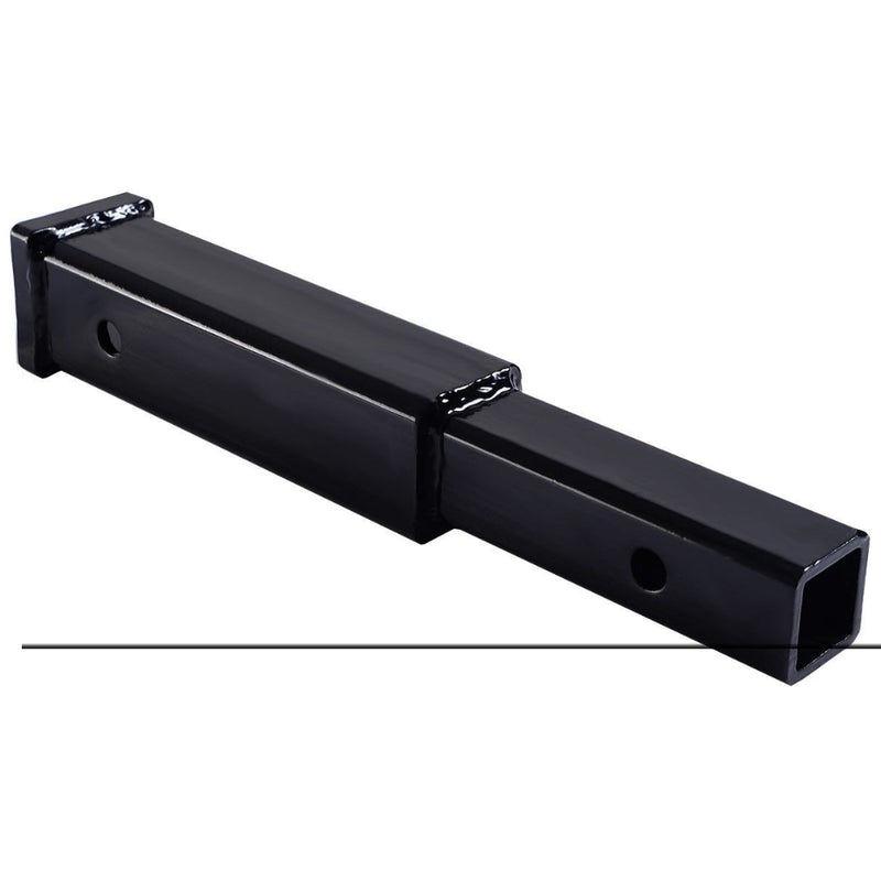 "12"" Hitch Extension Receiver 2"" Extender 5/8"" Pin Hole 4000 Lbs Tow Capacity 200815-23865"