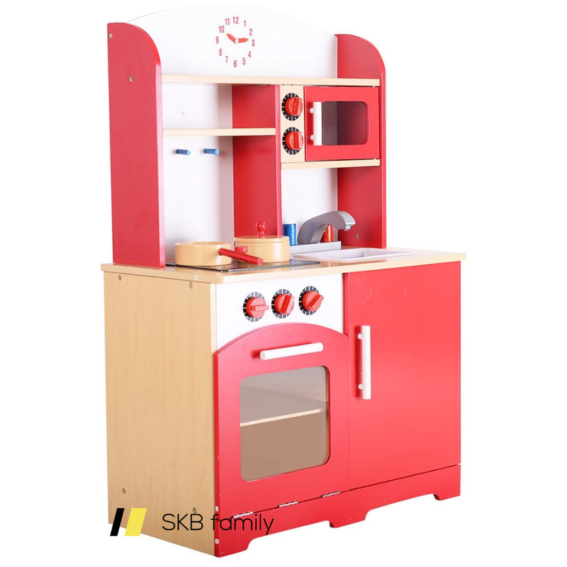 Kids Cooking Pretend Play Toy Kitchen Set 200815-23870