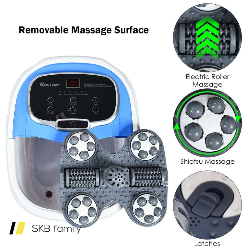 Portable Foot Spa Bath Motorized Massager With Shower 200815-23913