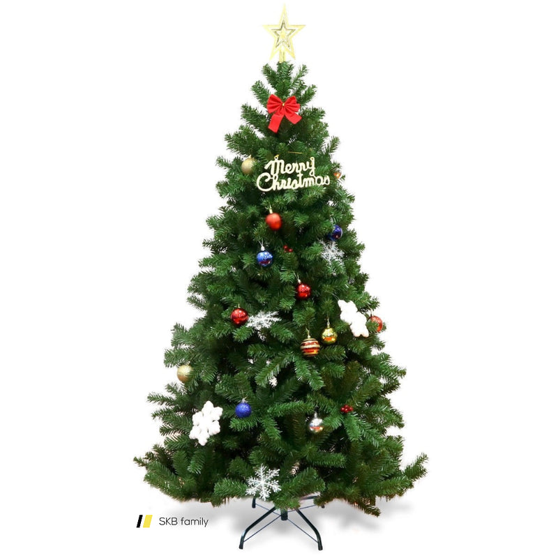 Encryption Premium Pvc Artificial Christmas Tree With Metal Stand 200815-24237