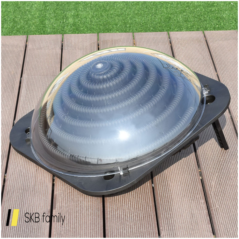 Black Outdoor Solar Dome Swimming Pool Water Heater 200815-24283