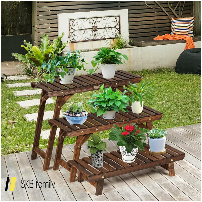 3 Tier Step Design Plant Shelf Rack 200815-24287