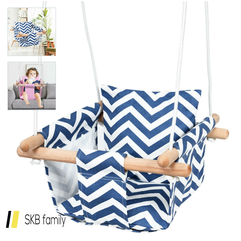 Indoor Outdoor Baby Canvas Hanging Swing 200815-24305