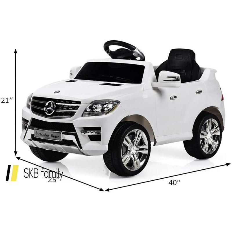 6v Mercedes Benz Kids Ride On Car With Mp3+Rc 200815-24313