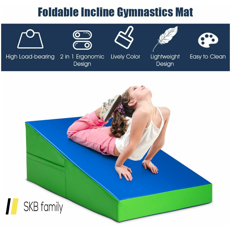 Incline Wedge Fitness Skill Tumbling Gymnastics Mat 200815-24438