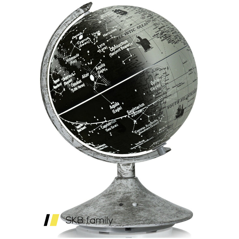 3-In-1 Led World Globe With Illuminated Star Map 200815-24441