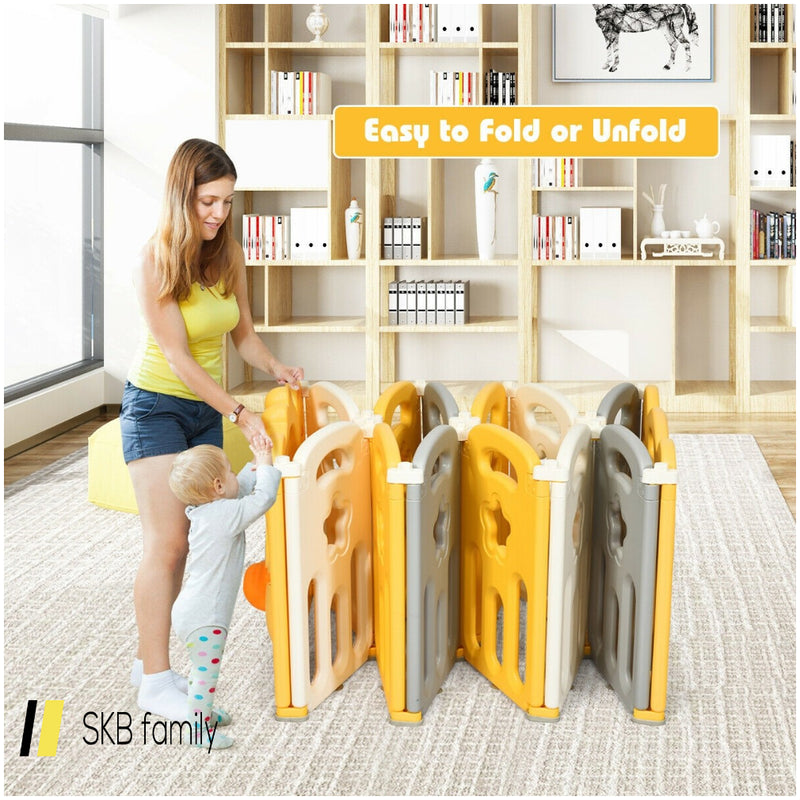 14-Panel Foldable Baby With Sound 200815-24473