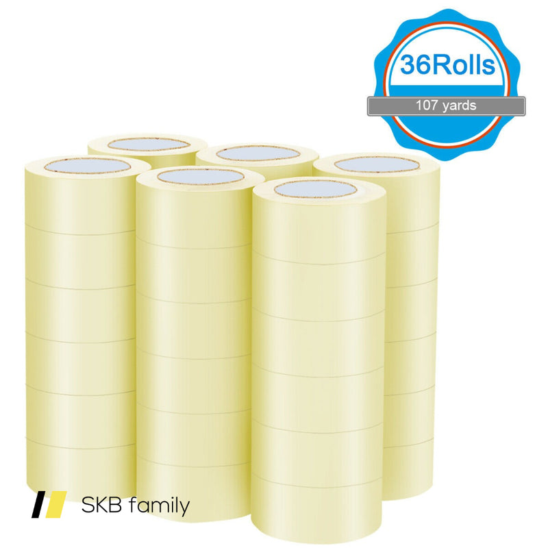 "36 Rolls Clear Carton Box Packing Package Tape 1.9"" X 110 Yards 200815-24485"