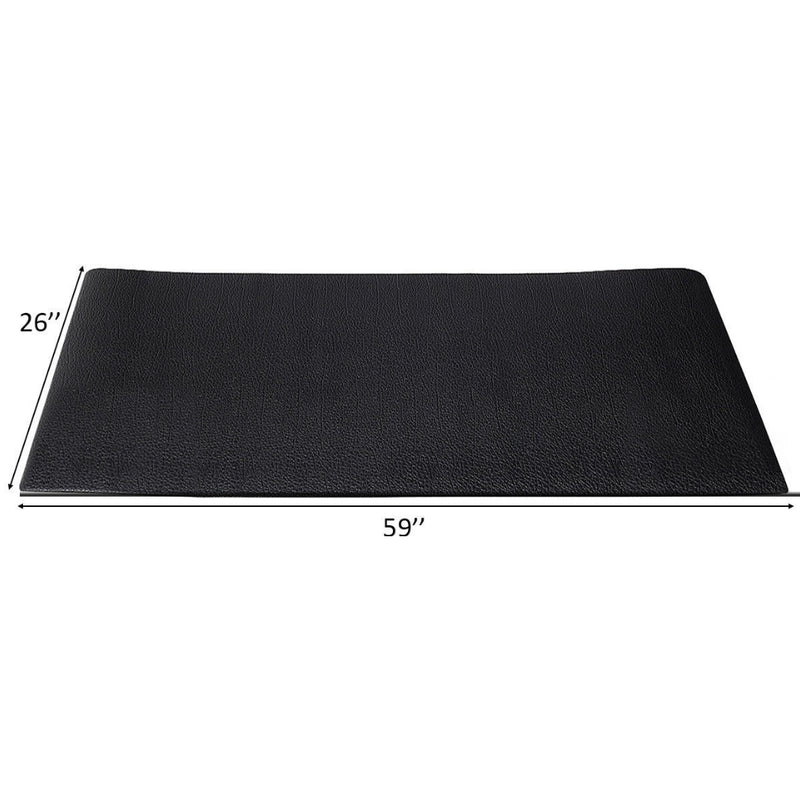 "59"" X 26"" Exercise Equipment Pvc Mat Gym Bike Floor Protector 200815-24486"