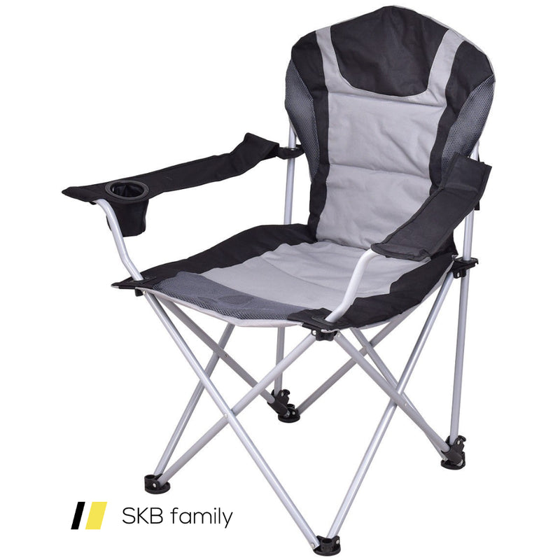 Portable Fishing Camping Chair W/ Cup Holder 200815-24489