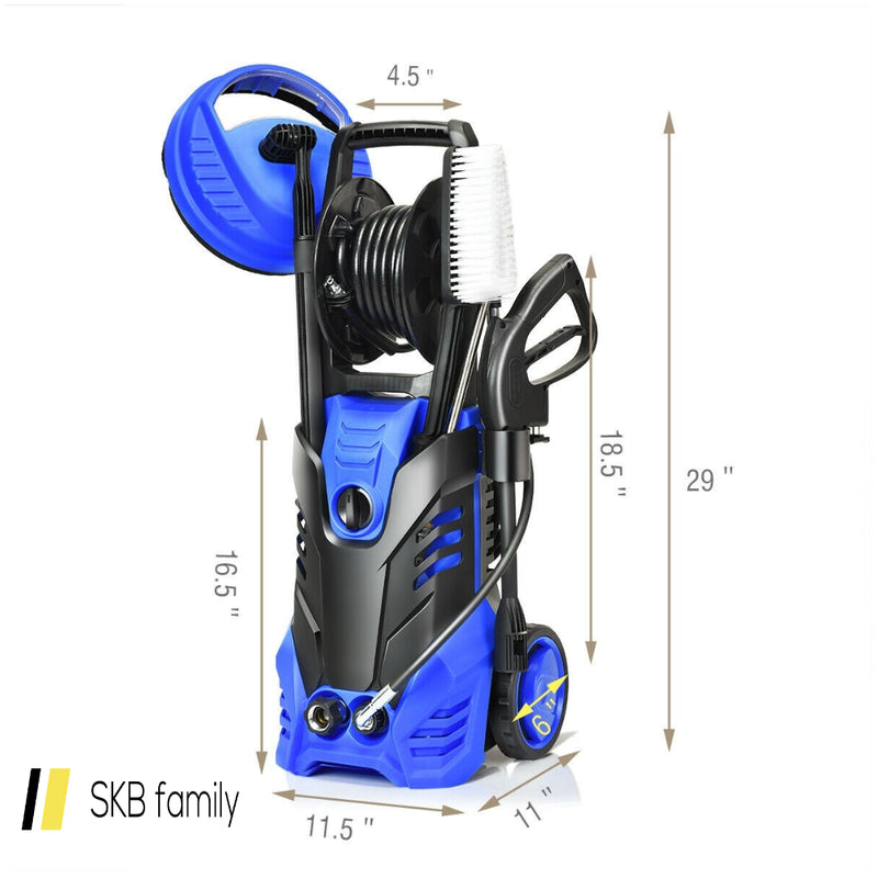 3000 Psi Electric High Pressure Washer With Patio Cleaner 200815-24516