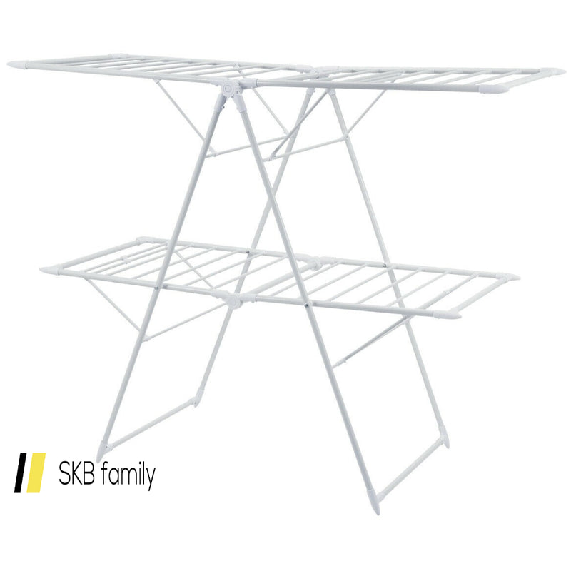 2-Level Foldable Clothes Drying Rack 200815-24531
