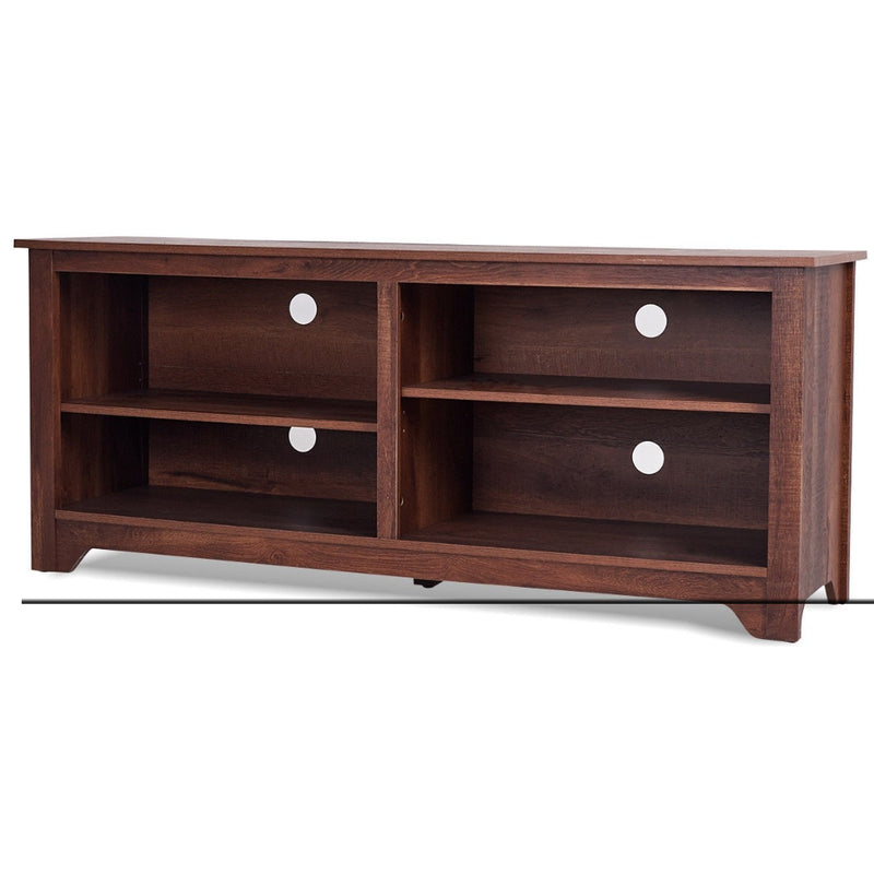 "58"" Entertainment Media Center Wood Storage Tv Stand 200815-24534"
