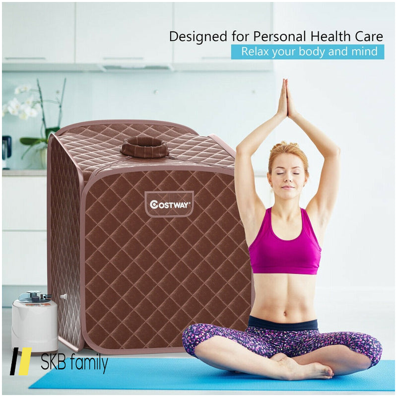 2l Portable Folding Steam Sauna Spa 200815-24543
