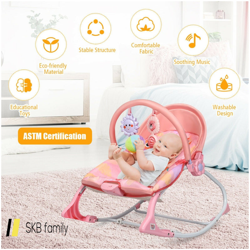 Baby Adjustable Swing Bouncer & Rocker 200815-24570