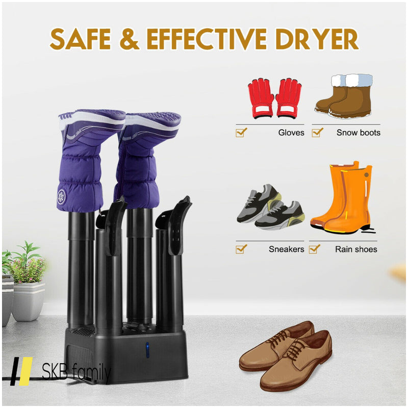 Prevent Odor Mold & Bacteria 4 Shoe Electric Dryer With Timer 200815-24581