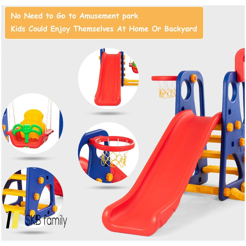 3 In 1 Junior Children Climber Slide Playset 200815-24594