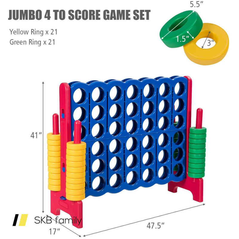 Jumbo 4-To-Score 4 In A Row Giant Game Set 200815-24596