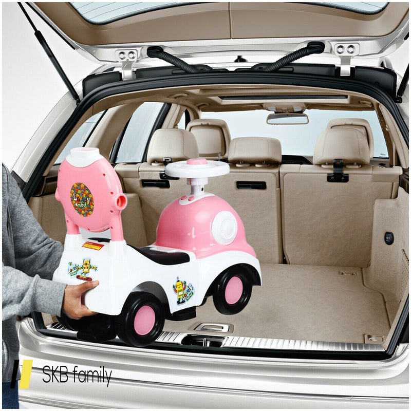 3-In-1 Ride On Push Car With Music Box & Horn 200815-24602