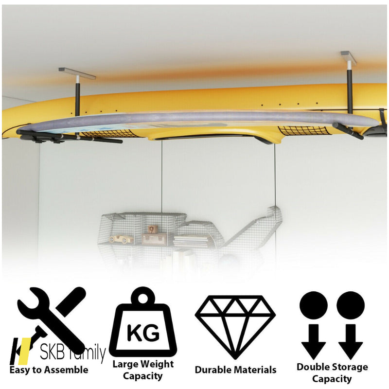 5 Ft Double Surf Ceiling Storage Ceiling Rack 200815-24606