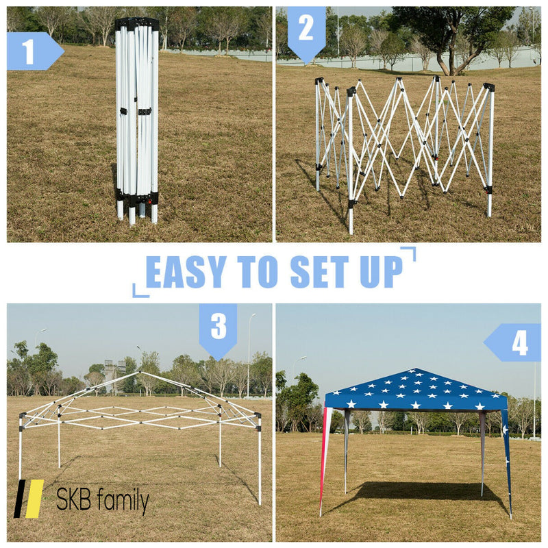 Outdoor 10' X 10' Pop-Up Canopy Tent Gazebo Canopy 200815-24617