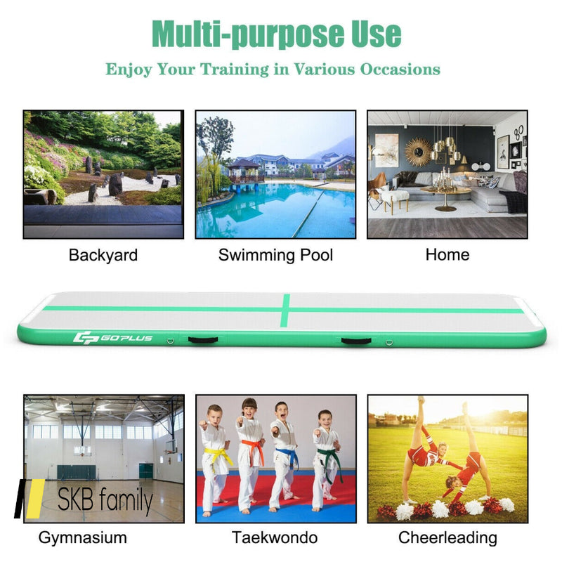 13 Feet Air Track Inflatable Gymnastics Tumbling Mat With Pump 200815-24619
