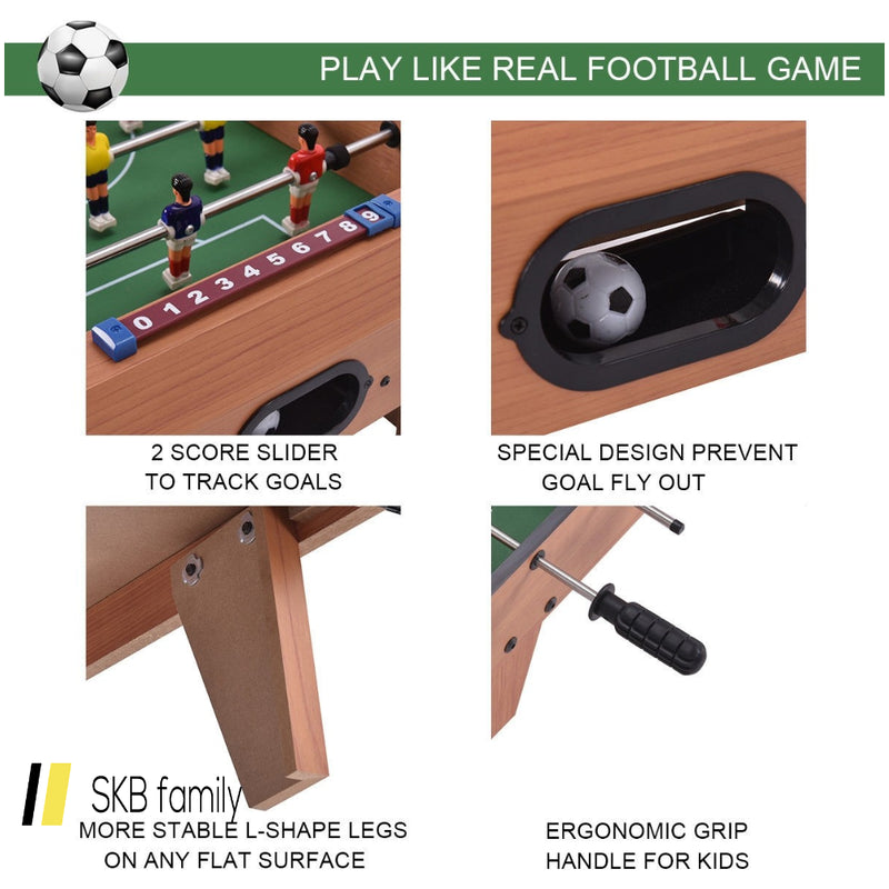 "27"" Indoor Competition Game Foosball Table W/ Legs 200815-24622"