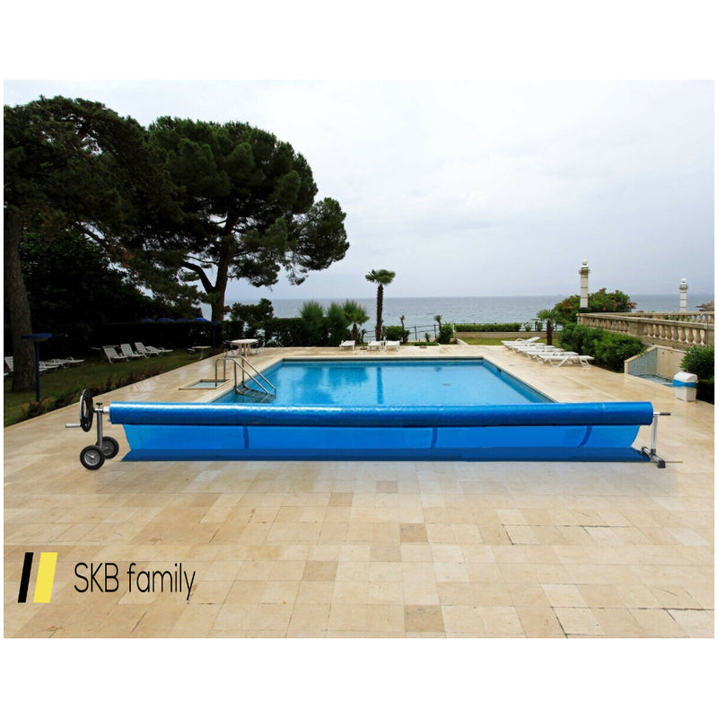 21 Ft Aluminum Pool Cover Reel Set 200815-24805