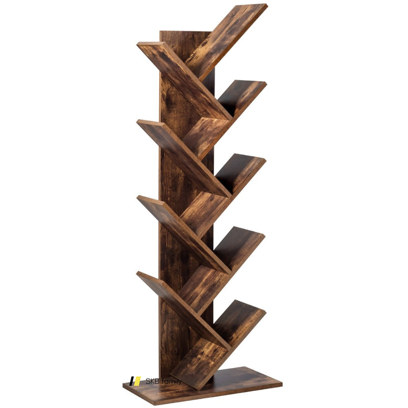 8-Tier Free Standing Tree Bookshelf 200815-24829