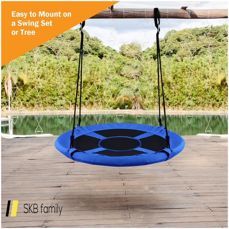 "40"" Flying Saucer Tree Swing Indoor Outdoor Play Set 200815-24845"