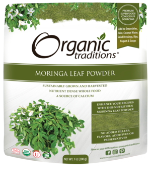 Moringa, Organic traditions (powder), 200g